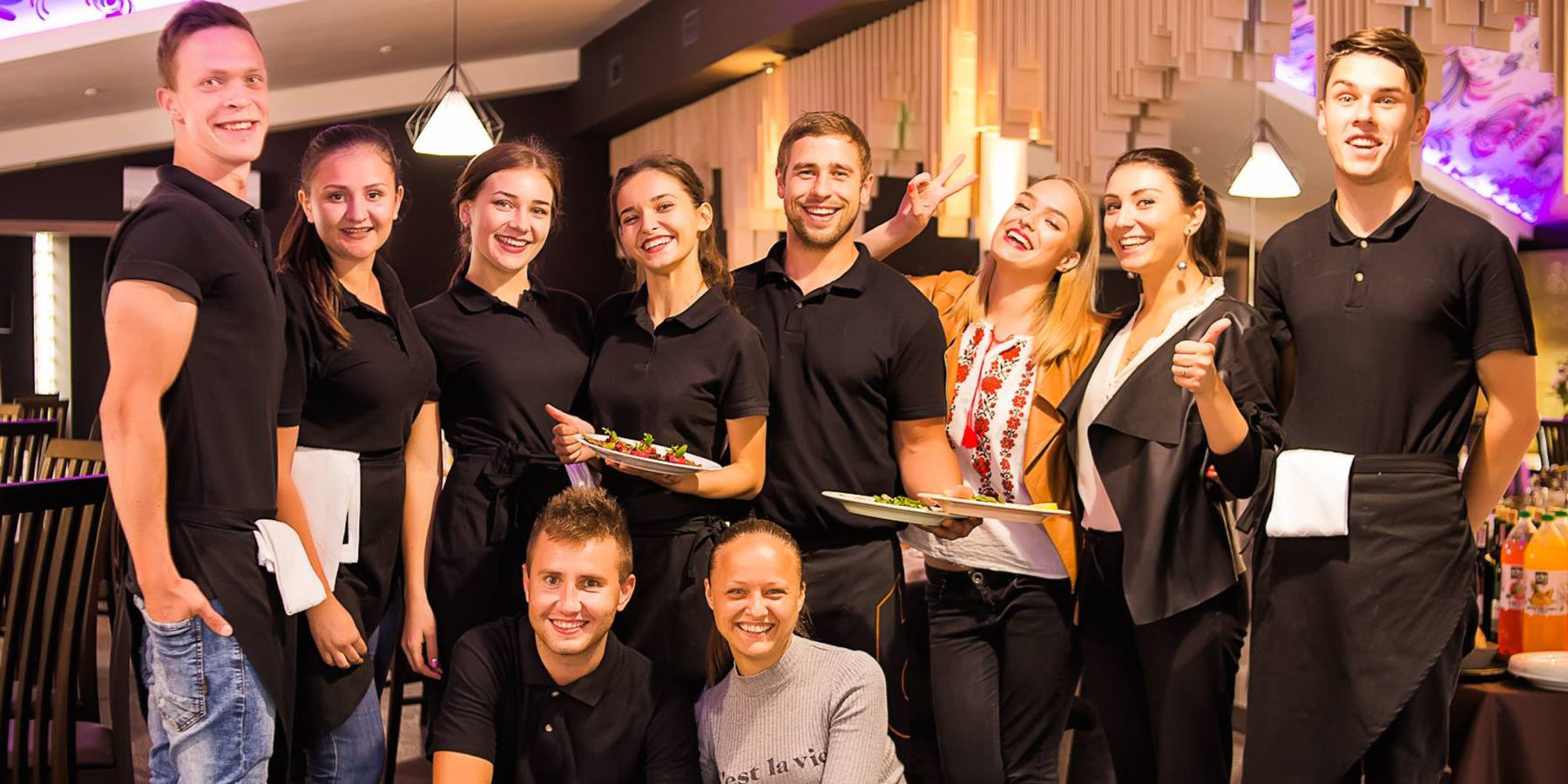 Команда ресторану Prynada