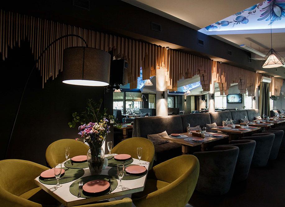Петриківка - банкетний зал в ресторані Принада, Оболонь