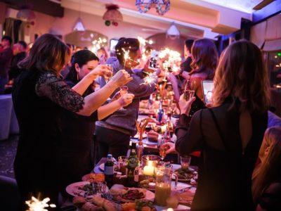 Вечірка в українському ресторані Prynada