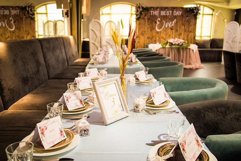 Весілля в ресторані Prynada