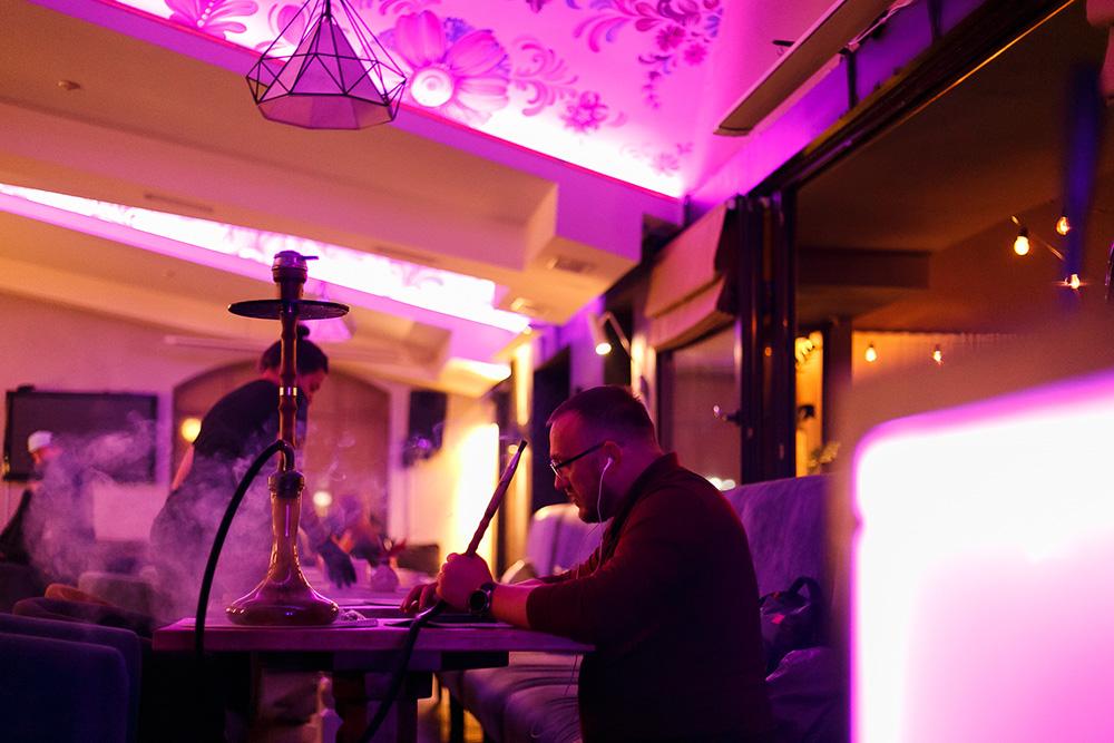 Кальян в ресторані Prynada, Оболонь, Мінська