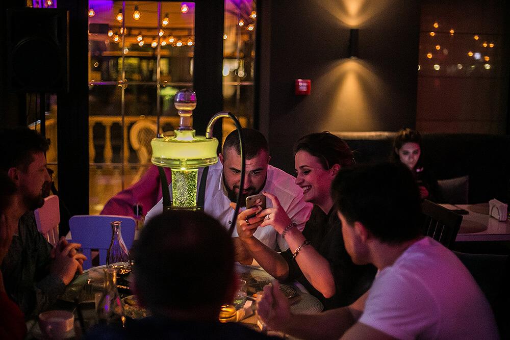 Кальянна на Оболоні, Ресторан Prynada